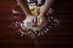 dough floor baking