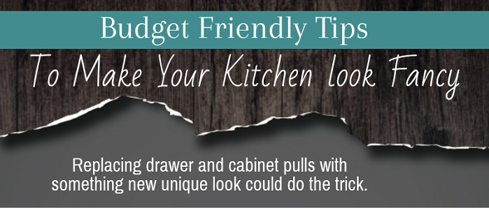 Budget Friendly Tips To Make Your Kitchen Look Fancy